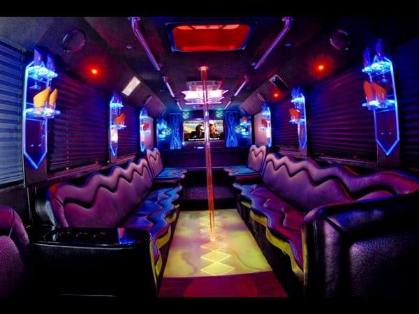 Long island limo bus