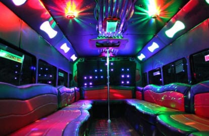 Passenger Party Bus Long Island