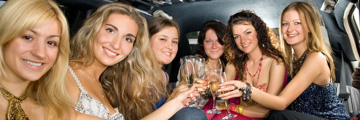 Bachelorette Party Limo Bus