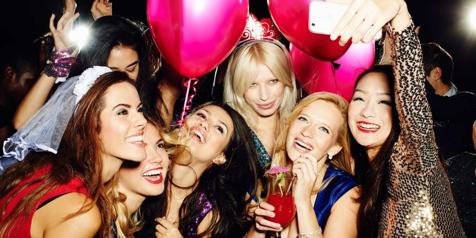 Bachelorette Party Limo Bus